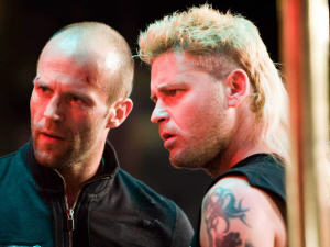 Jason Statham, à gauche, Corey Haim, à droite, dans «Crank High Voltage»