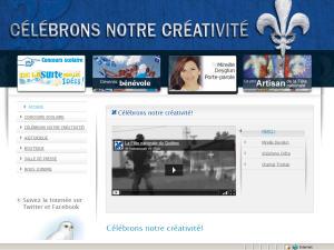 Page du site Internet de la Fête nationale