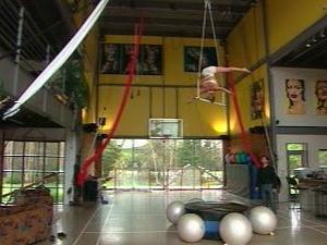 Le gymnase de la propriétaire du Cirque Fantastic