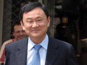 L'ex-premier ministre Thaksin Shinawatra