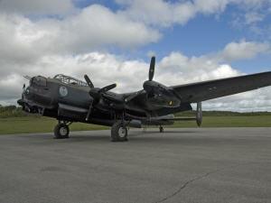 Un bombardier Lancaster