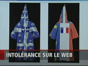 Des tuniques du Ku Klux Klan québécoise et acadienne