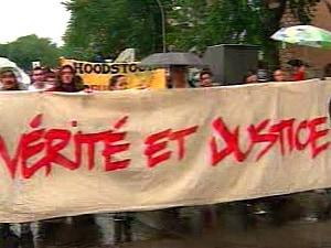 Des dizaines de personnes ont marché à Montréal-Nord pour souligner les deux ans de la mort de Fredy Villanueva.