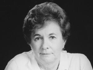 L'auteure Hélène Brodeur en 1987