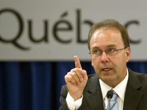 Marc Bellemare lors de son témoignage devant la commission Bastarache