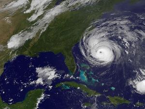 L'ouragan Earl, avant qu'il ne touche la côte est des États-Unis