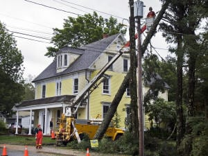 La tempête Earl a provoqué de nombreuses pannes de courant