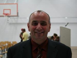 Claude Bouffard, candidat à la mairie à Rivière des Français