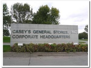 Les bureaux de Casey's à Des Moines.