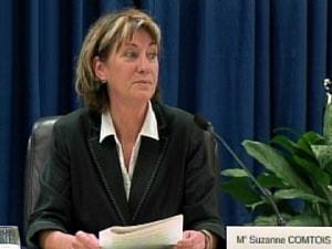 Le professeure de droit Suzanne Comtois