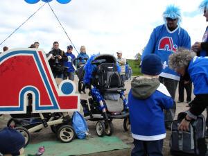 Des dizaines de milliers de personnes ont pris part à la Marche bleue.