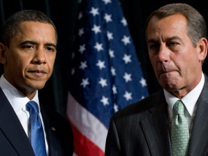 Le président Barack Obama devra dorénavant négocier avec John Boehner.