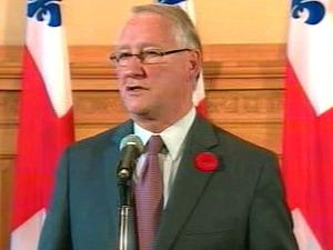 Le maire de Montréal accepte la version gouvernementale de l'échangeur Turcot rejetée par l'opposition