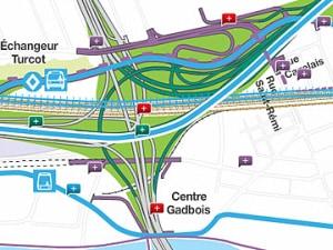 L'échangeur Turcot, la structure routière la plus achalandée au Québec, demeurera fonctionnel durant toute la durée de sa réfection.