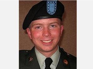 Le soldat Bradley Manning, ancien analyste de données pour l'armée américaine en Irak.