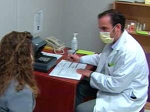 Clinique temporaire de grippe