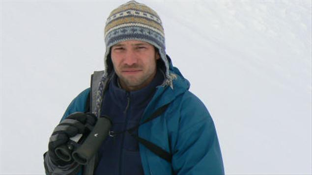 Le biologiste de l'UQAR ,Joël Bêty