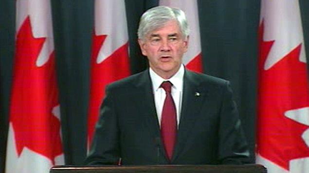 Le ministre canadien des Affaires étrangères, Lawrence Cannon