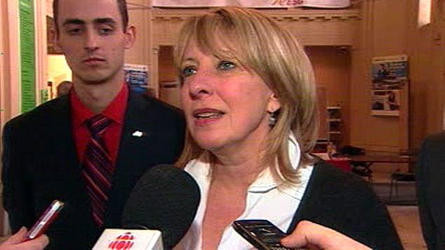 Christine St-Pierre, ministre de la Culture et des Communications