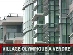 Condominiums à vendre au village olympique