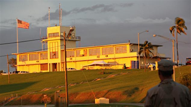 La prison américaine de Guantanamo à Cuba