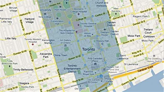 Aire de service de BIXI à Toronto