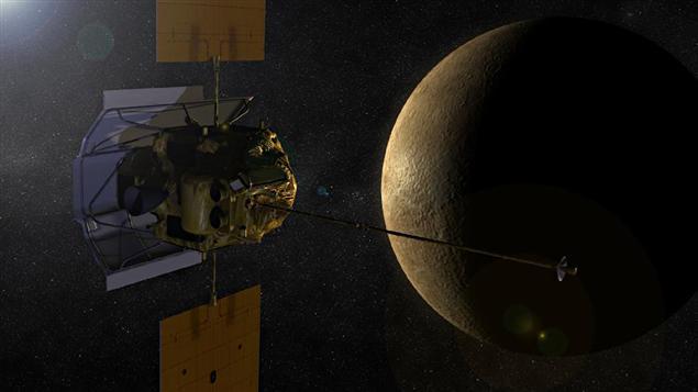 La sonde Messenger