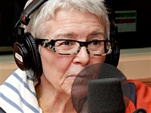 Chantal Jolis, animatrice à la radio