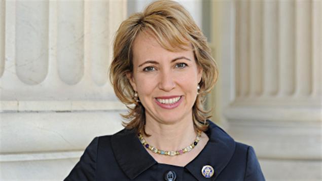 La représentante Gabrielle Giffords
