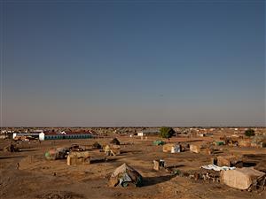 Vue de la région d'Abyei, située à cheval entre le Nord et le Sud du Soudan.