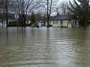 Inondations en Montérégie