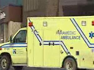 Ambulance du CSSS de Papineau, dans le secteur de Buckingham