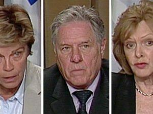 Louise Beaudoin, Pierre Curzi et Lisette Lapointe
