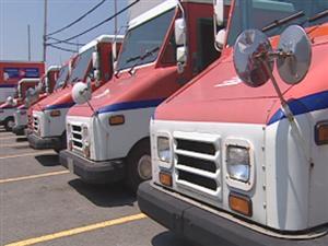 Camions de Postes Canada