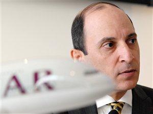 Le PDG de Qatar Airways, Akbar Al-Baker (archives)