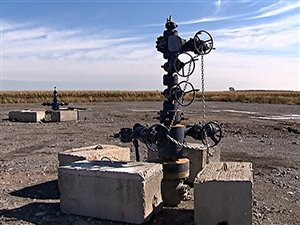 Puits de gaz de schiste