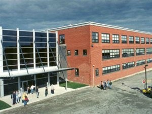 Le campus de l'Université du Québec en Abitibi-Témiscamingue à Val-d'Or
