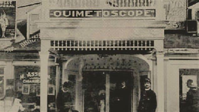 Le Ouimetoscope, première salle de cinéma permanente à Montréal et au Canada