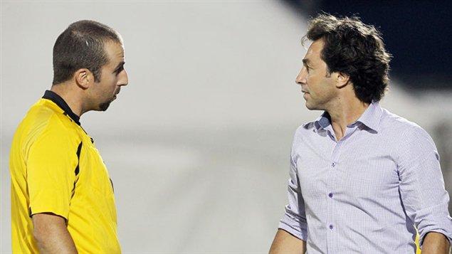 Nick De Santis (à droite)