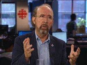 Gérald Larose, président du Conseil de la souveraineté du Québec