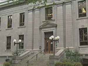 Le palais de justice de Trois-Rivières