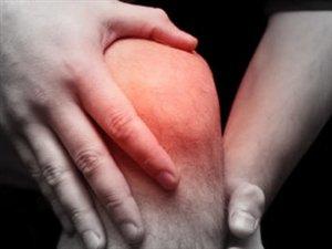 Une douleur au genou