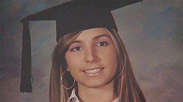 Anastasia De Sousa, étudiante de 18 ans tuée lors de la fusillade à Dawson.