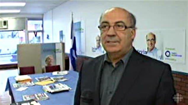 Le député de Rimouski, Irvin Pelletier