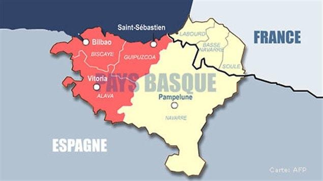 Carte Cote Basque France Espagne | My blog