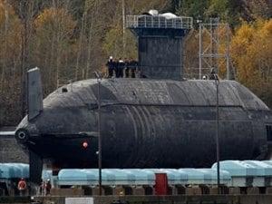 Le sous-marin NCSM Chicoutimi a été à l'eau seulement deux jours en 13 ans.