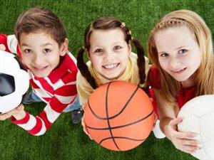 enfants sports ballons amis