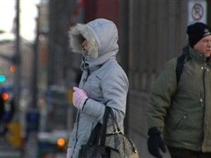 Une vague de froid s'est installée au Québec et en Ontario.