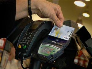 Paiement par carte de crédit sans contact