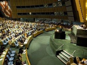 L'Assemblée générale de l'ONU (archives)